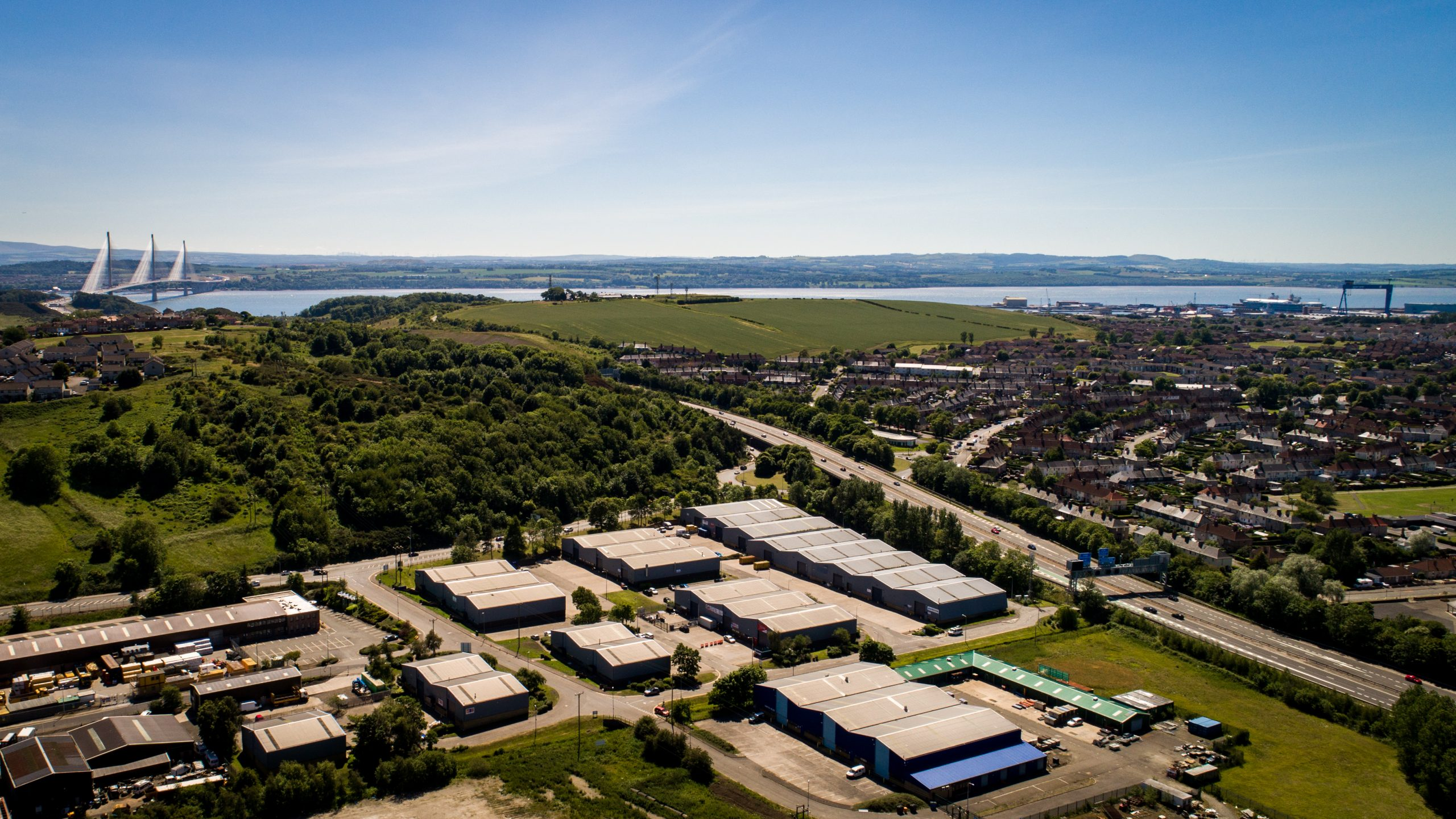 New industrial property lettings at Belleknowes Industrial Estate, Inverkeithing, Fife